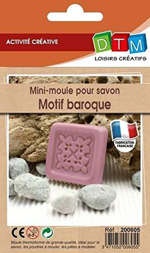 Moule pour Savon Mini Motif Baroque - Graine créat