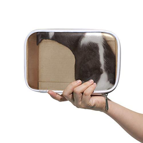 Cajas para cartón estacionario Naughty Cat Fun Bolsas de cosméticos grandes para...