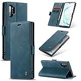 Kunyun Auto-absorbé Flip Portefeuille en Cuir Shell for Samsung Galaxy Note 10 Portefeuille...