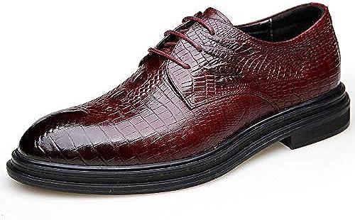 LOVDRAM Chaussures en Cuir pour Hommes Nouveaux Chaussures en Cuir pour Hommes d'affaires De VêteHommests De Mode Chaussures pour Hommes