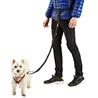 The Bunty Hands Free dog lead is strong and adjustable. The lead can be easily unclipped from the waist belt using the buckle. Ideal for running, cycling and perfect if you need use of your hands whilst walking you dog. Adjustable Lead Length: 100cm ...