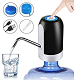 Safe & Healthy: Electric water bottle pump, food grade silicone hose, 304 stainless steel, high density ABS plastic, BPA free drinking water pump, odor-free and non-toxic, cold and high temperature resistance. The built-in silicone seal prevents wate...