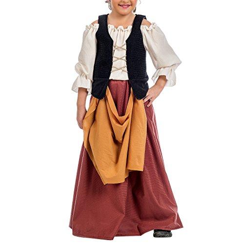 Limit Sport- Campesina Medieval, disfraz infantil, 6 (MI095