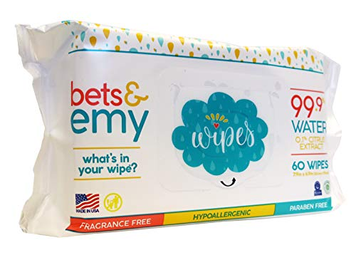 Bets and Emy Baby Wipe Product Image
