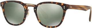 LERNER OV 5369S SEMI MATTE SABLE TORTOISE/G- GOLDTONE 50/23/145 men Sunglasses