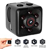 QIjinlook Mini Kamera Classic, Full HD 1080p Camcorder, Sport Mini DV Video Recorder, Spion Kameras, Überwachungskamera, Camcorder, HD Sports Micro Camera (Schwarz)