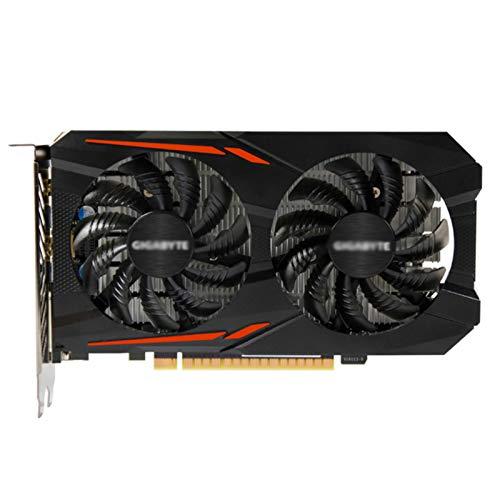 AILINSHA GeForce GTX 1050 TI Tarjeta de gráficos 4GB GDDR5 PCI Express Adaptador de Video Tarjetas - Negro