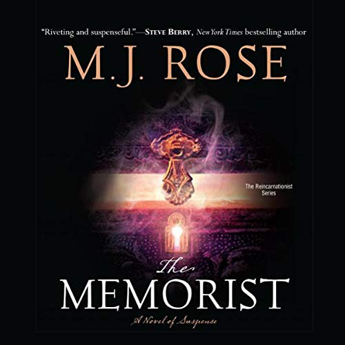 The Memorist audiobook cover art