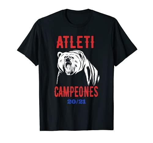 Atleti Campeones 20 21 Camiseta