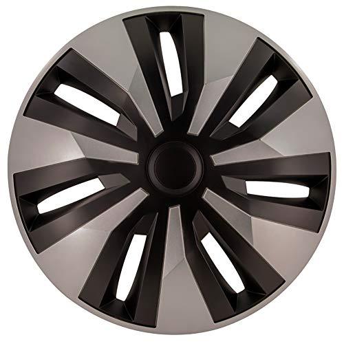 Jeu d'enjoliveurs Orion-VAN 16-inch argent/noir (sphère)