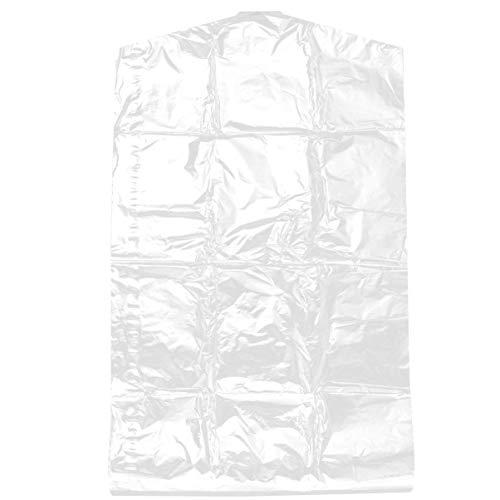 YARNOW 50 Piezas 60X90 Cm Bolsa de Plástico para Ropa Bolsas de Cubierta de Traje Transparente Bolsas de Almacenamiento de Ropa de Limpieza en Seco Desechables Bolsas de Almacenamiento