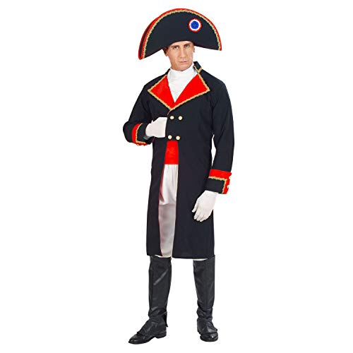 WIDMANN 57885  Disfraz de Napolen, Chaqueta, Chorro, Pantalones, cinturn, cubrebotas, Sombrero, gobernador, Conquistador, Disfraz, Carnaval, Fiesta temtica