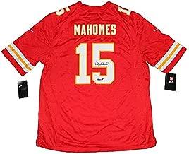 Patrick Mahomes Autographed Signed Memorabilia Kansas City Chiefs #15 Nike Game Jersey - JSA Authentic