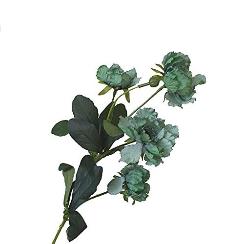 MOOVGTP Flores artificiales de crisantemo salvaje, 6 piezas de simulación de crisantemo, flores de flores para arreglos de flores de bricolaje para bodas, fiestas, decoración del hogar y el jardín