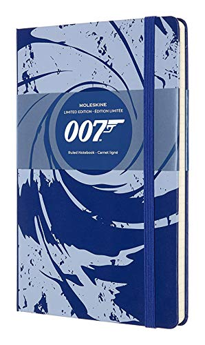 Moleskine Limited Edition James Bond Notebook, Hard Cover, Large (5' x...