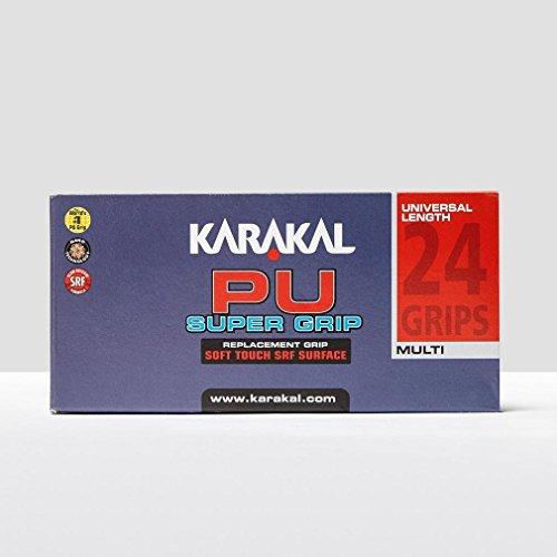 Karakal PU Super Squash Grips (Assorted Colours
