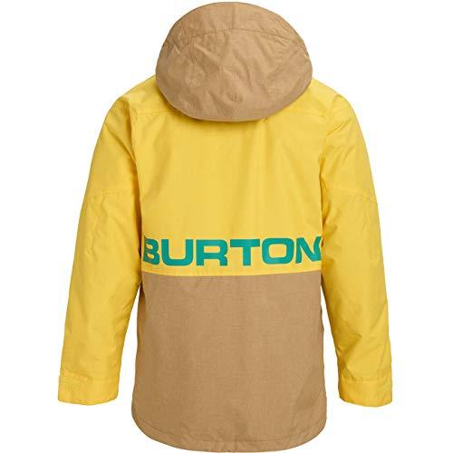 Burton Herren Ski- Snowboardjacke M Hilltop JK, Größe:S, Farben:Maize/kelp
