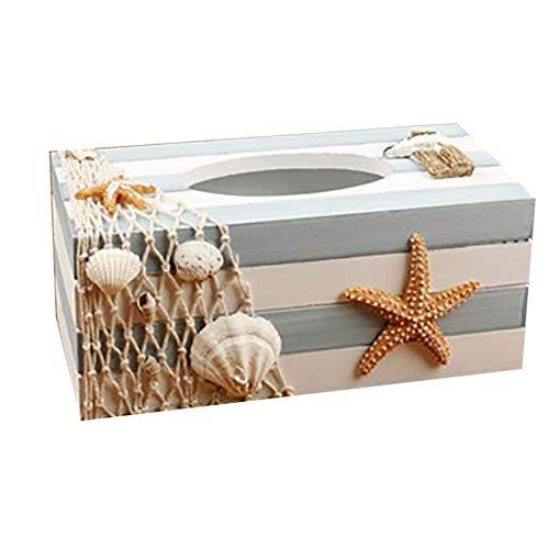 KDEKIFN De Estilo Europeo, Caja Creativa del Tejido del Tejido Decorativo del sostenedor del Tejido Cubierta de la Caja for servilletas Caja Elegante decoración