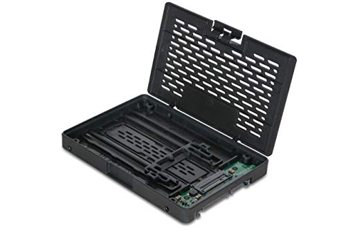 ICY DOCK EZConvert MB703M2P-B - M.2 SATA SSD zu 2,5 Zoll (6,4cm) SATA SSD Konverter/Adapter