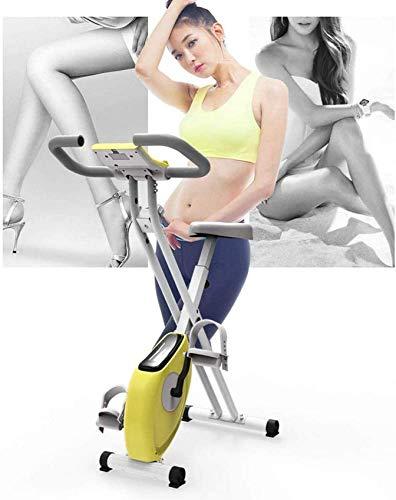 2020 Indoor Spin Bike Indoor Cycling Bike for Health Fitness, bicicleta estacionaria de asiento de resistencia ajustable, tableta, establo tranquilo y suave para el entrenamiento de cardio de la casa