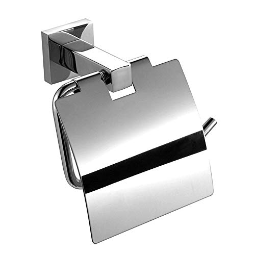 ALSGON Portarrollos de Pie con Escobillero, Porta Papel Higienico y Escobilla/Portarrollos Baño...