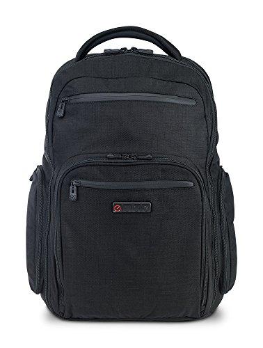 "ECBC Hercules Laptop Backpack, with 17"" Laptop Sleeve, TSA FastPass, Black"