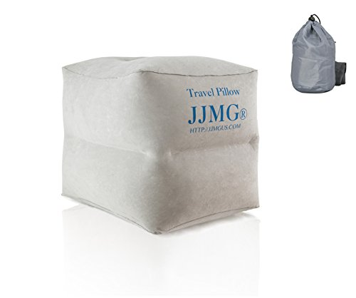 JJMG 2 Tier Air Travel Leg Rest Pillow for Resting Feet for Kids, Children Sleeping During Air Plane Flight Footrest Pillow Recliner Relax Cushion, Buy 3 & Make a Bed in Your Car's Back Seat Camping