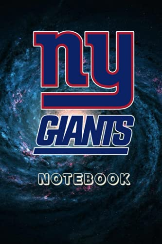 Football Notebook : New York Giants Daily Planner Notebook For Sport Fan Thankgiving , Christmas Gift Ideas Type #14