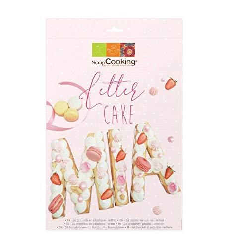 ScrapCooking Letter Cake
