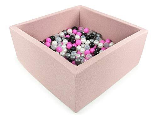 BKWDP3 Fabriqu/é en EU Tweepsy B/éb/é Piscine A Balles pour Enfants Bambin 300 Balles 90x90X40cm