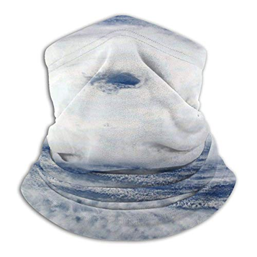 Altura del Embudo Sky Air Mass Headwear Neck Gaiter Warmer Winter Ski Tube Scarf Mask Fleece Face Cover a Prueba de Viento para Hombres Mujeres