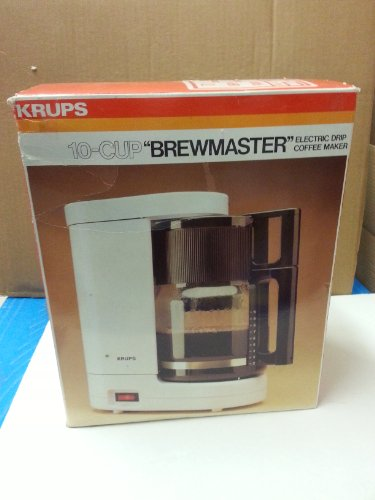 """Krups 10-Cup """" BrewMaster """" Electric Drip Coffee Maker/ Type 261"""