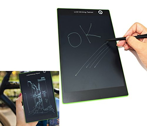 """9.7"""" LCD Writing Tablet, Best Paperless Digital Writing Drawing Tool for Adults, Kids and Children at Home, School or Work Office Easy Magic Eraser Easy to use for All Ages"""