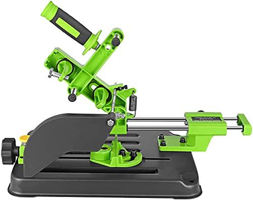 4YANG - Soporte de amoladora angular multiusos, herramienta para sierra de formato para amoladoras de corte y pulido, para amoladoras angulares 100, 115 y 125