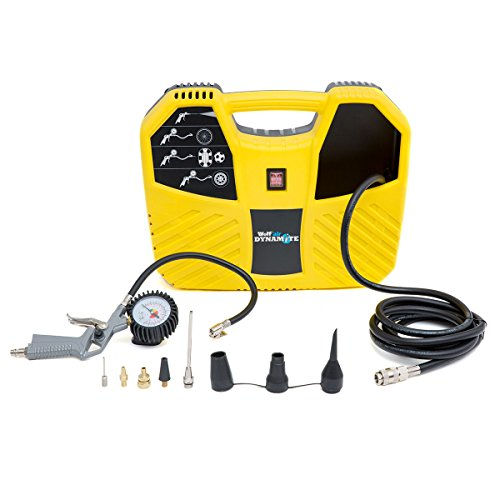 Wolf Dynamite Air Compressor Portable and Lightweight 6.33CFM 1.5HP 230v + 10pc Air Tool Kit