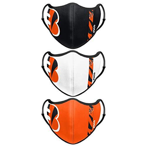 Cincinnati Bengals NFL Sport 3 Pack Face Cover
