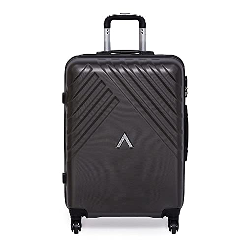 Aristocrat Sienna Polycarbonate 67 cms Grey Hardsided Check-in Luggage