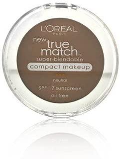 L'Oreal Paris True Match Super-Blendable Compact Makeup, Honey Beige, 0.3 oz.