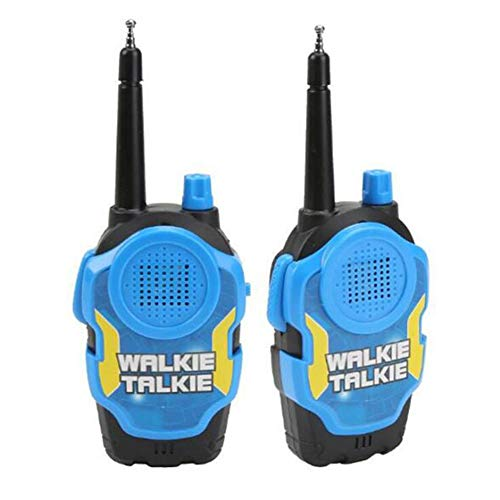 Walkie Talkies Para Niños-Juguetes Para Niños Walkie Talkie Niños Padres Interactivo Juegos Al Aire Libre Interphone Gifts Juguetes 3 Colores Avaliable Fun Toy 2 Pack,Blue