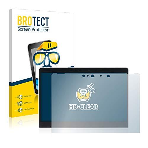 BROTECT Schutzfolie kompatibel mit Porsche Design Book One klare Bildschirmschutz-Folie