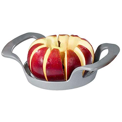 Westmark Apfel- und Birnenteiler, 17 x 11,1 x 4,3 cm, Rostfreier Edelstahl/Stahl, Divisorex, Silber, 51102260