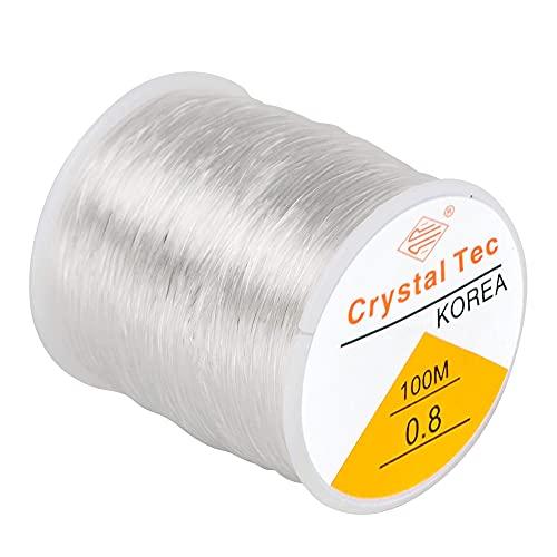 Aloces Hilo de cuentas de cristal de 0,8 mm para joyas, hilo...