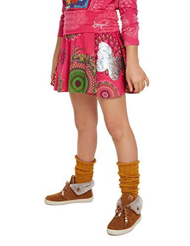 Desigual Mädchen Skirt Galactic Rock, Rosa (Fuchsia Rose 3022), 164 (Herstellergröße: 13/14)