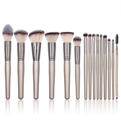 Pinceau De Maquillage Professionnel 15 Pcs Studio Photo Brosse Blush Ombre À Paupières Contour Maquillage Outils De Beauté Artiste