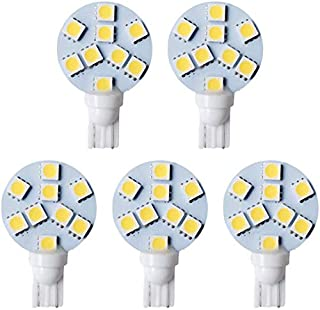 RetroArcade.us ra-pb-led-t10-fr-g-10pk 10 Pack Pinball Replacement Bulb led 6.3 Volt ac 555 Clear Wedge Base t10 Cool Green Frosted