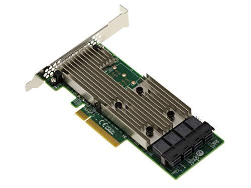 Kalea Informatique - Tarjeta controladora PCIe 3.0 SAS + SATA (12 GB, 16 puertos internos, OEM 9305-16i
