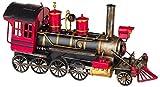 Modelo Locomotora ferrocarril Tren Metal Nostalgia Estilo Antiguo 41cm