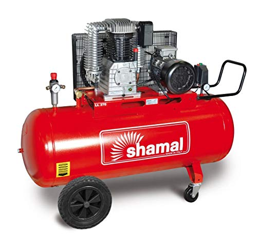 Compresor de correa Bistadio Trifase HP 7,5 Bar 11 Shamal K30/270 CT7,5