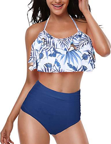 Yuson Girl Mujer Conjunto De Frill Bikini Tiras Talle Alto