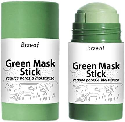 Fascigirl Green Mask Stick Natural Portable Oil Control Herbruikbare Gezichtsmasker Stick Face Mask Stick Deep Clean Hydraterende